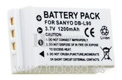 Bateria DB-L90 para camaras Sanyo