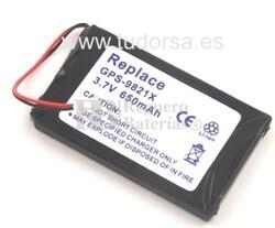 GPS-9821X Bateria para TomTom