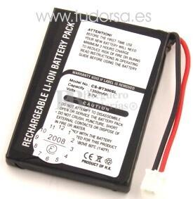 Bateria para Gps Globalsat BT-300, BT-308 Bluetooth GPS Receiver,DELL GPS BT-309