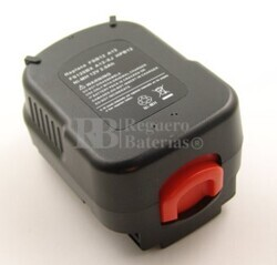 Bateria para Taladros Black Decker XTC12IK