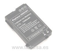Bateria para E-TEN M500, M550, M600, M600+, G500, G500+,Typhoon MyGuide..