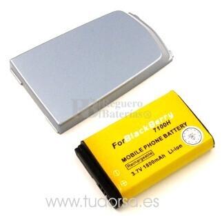 Bateria para BlackBerry larga duraci�n series 7100g, 7100i, 7100r, 7100t, 7100v, 7100x, 7105t, 7130e
