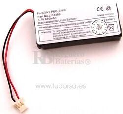 Bateria para Sony Clié PEG-SJ20