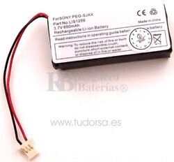 Bateria para Sony Cli� PEG-SJ22