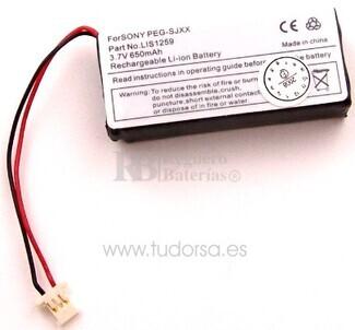 Bateria para Sony Clié PEG-SJ30G