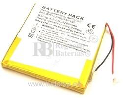 Bateria para Archos 605 WiFi 30GB - 5.200 mAh (Larga Duración )