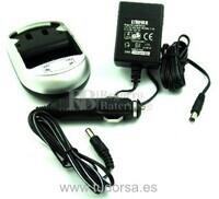 Cargador para bateria JVC BN-V408U, JVC BN-V416U, JVC BN-V428U