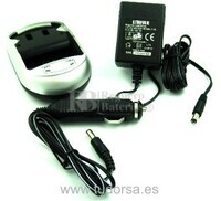 Cargador para bateria Samsung SLB-0837 (B)