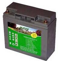 Bateria de Gel para Silla de Ruedas Eléctrica en 12 Voltios 18 Amperios EV12-18