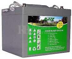 Bateria de Gel para Silla de Ruedas El�ctrica en 12 Voltios 44 Amperios HAZE EV12-44