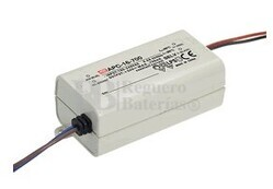 Fuente de Alimentación para bombillas led 12-48V 350 mAh 300mV APC-16-350 Mean Well