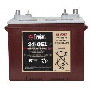 Batería Trojan 24-GEL 12 Voltios 85 Amperios