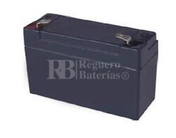 Bateria de plomo acido 4 Voltios 3.5 Amperios (90x34x59mm)