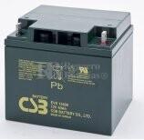 Batería AGM Cíclica para Silla de Ruedas Eléctrica en 12 voltios 40 amperios  EVX12400