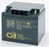Bateria AGM Cíclica para Silla de Ruedas Eléctrica en 12 voltios 40 amperios CSB EVX12-400
