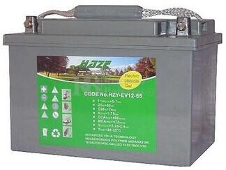 Batería de Gel para Silla de Ruedas Eléctrica en 12 Voltios 60 Amperios EV12-60