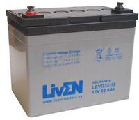 Batería de Gel para Silla de Ruedas Eléctrica en 12 Voltios 32 Amperios LVEG32-12