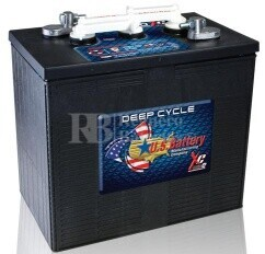 Bateria para instalaci�n solar 6 voltios 255 Amperios C20 295x181x295 mm US Battery US250XC2