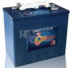 Bateria para instalaci�n solar 6 voltios 283 Amperios C20 295x181x295 mm US Battery US250HCXC2