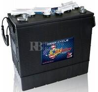 Bateria para instalación solar 12 voltios 220 Amperios C20 397x179x378 mm US Battery US185XCHC