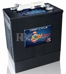 Bateria para embarcación 6 voltios 310 Amperios C20 302x181x371 mm US Battery US305XC