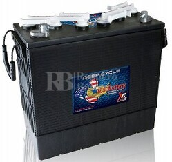 Bateria para Fregadora Barredora 12 voltios 220 Amperios C20 397x179x378 mm US Battery US185XCHC