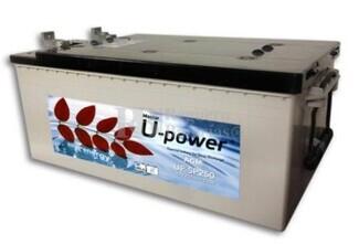 Bateria para Fregadora Barredora UP-SP250 12 Voltios 250 Amperios 518x274x242mm