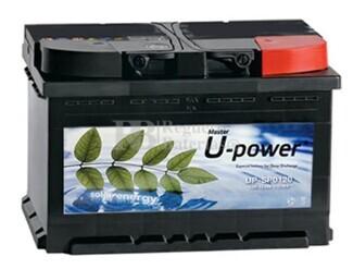 Batería para instalación solar UP-SPO120 12 Voltios 120 Amperios 345x175x230mm (con mantenimiento)