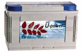 Batería para instalación solar UP-SP100 12 Voltios 100 Amperios 345x175x230mm (sin mantenimiento )