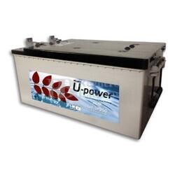 Bater�a para instalaci�n solar UP-SP160 12 Voltios 160 Amperios 513X189X223 mm (sin mantenimiento )
