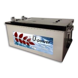 Batería para instalación solar UP-SP160 12 Voltios 160 Amperios 513X189X223 mm (sin mantenimiento )