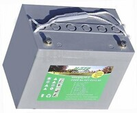 Batería para silla de ruedas eléctrica Invacare Narrow XT en Gel 12 Voltios 80 Amperios