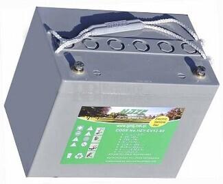 Batería para silla de ruedas Everest & Jennings Model 34B en Gel 12 Voltios 80 Amperios HAZE EV12-80