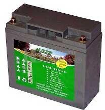 Batería para silla de ruedas eléctrica Kalerma Tug en Gel 12 Voltios 18 Amperios HAZE