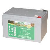 Batería para silla de ruedas Medicare Mercury Rio 3 y 4 en Gel 12 Voltios 12 Amperios HAZE EV12-12