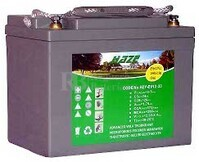 Batería para silla de ruedas Pride Mobility Suttle Tri Wheeler en Gel 12 Voltios 33 Amperios