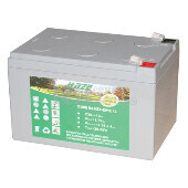 Batería para silla de ruedas shoprider Xtralite UL7WR-10-12 en Gel 12 Voltios 12 Amperios