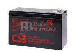 Bateria para SAI CSB UPS12580 12 Voltios 580 Watios