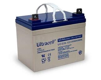 Bater�a de Gel  para Silla de Ruedas Electrica en 12 Voltios 35 Amperios ULTRACELL UCG35-12