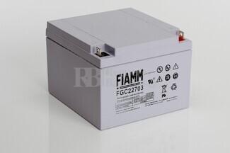 Bateria Cíclica Especial Carritos de Golf en 12 Voltios 27 FIAMM FGC22703