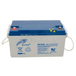 Batería de Gel para Silla de Ruedas Eléctrica en 12 Voltios 65 Amperios Ritar DG12-65