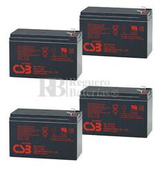 Baterías de sustitución para SAI APC SUA1500RM2U - APC RBC24