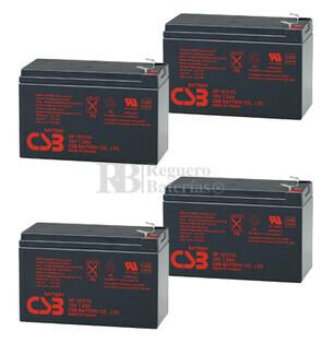 Baterías de sustitución para SAI APC SURTA2000RMXL - APC RBC57