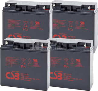 Baterías de sustitución para SAI APC SU3000TNET - APC RBC11