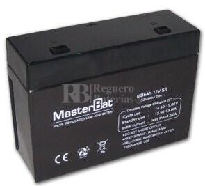 Batería de sustitución para SAI APC BACK UPS OFFICE 250 - APC RBC10