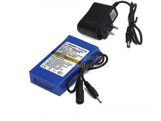 Batería para sondas de Pesca en Litio Recargable 12 Voltios 4,8 Amperios