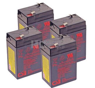 Baterías de sustitución para SAI APC AP370 - APC RBC-AP4