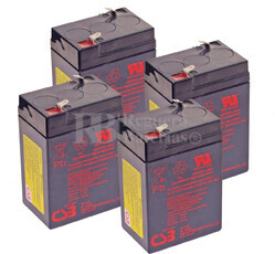 Baterías de sustitución para SAI APC SU400 - APC RBC-AP4