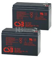 Baterías de sustitución para SAI APC SU600RM - APC RBC22