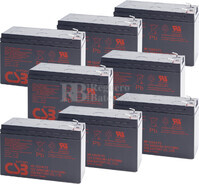 Baterías de sustitución para SAI APC SU5000R5XLTXFMR - APC RBC12
